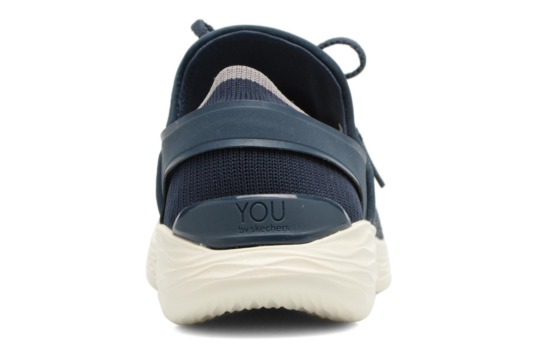 Chaussures de sport Skechers You Inspire Bleu vue droite