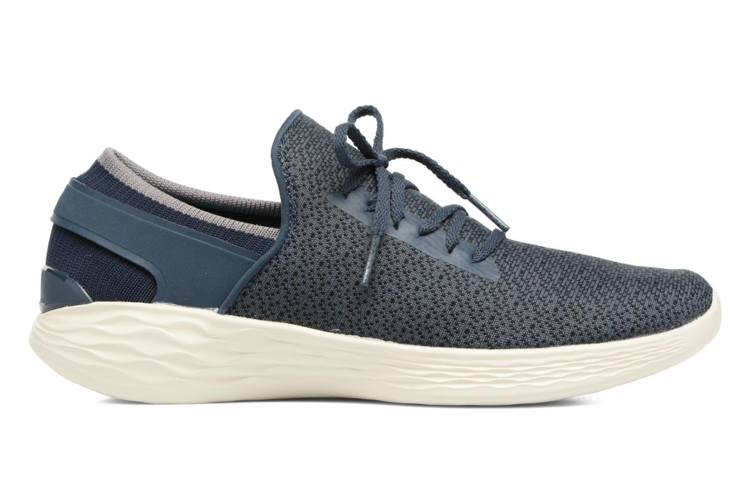 Sport shoes Skechers You Inspire Blue back view