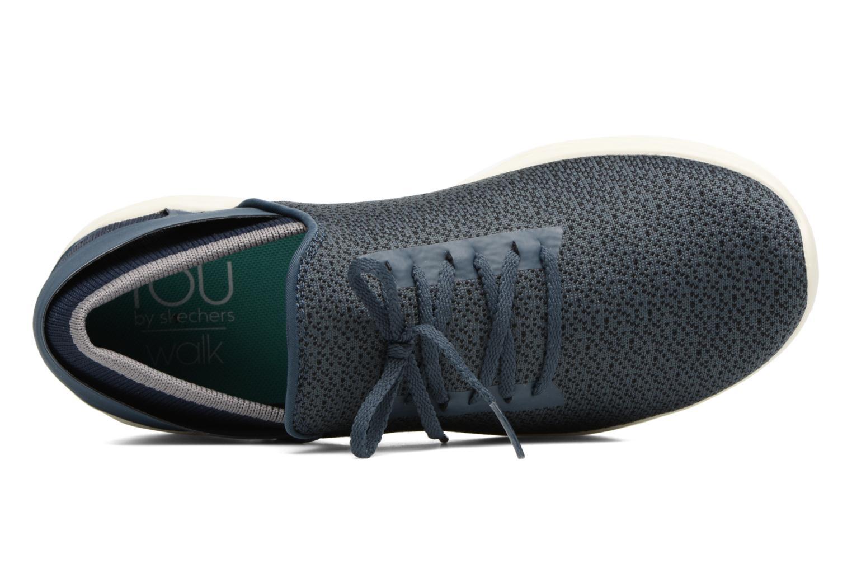 Chaussures de sport Skechers You Inspire Bleu vue gauche