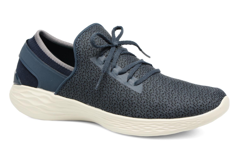 Chaussures de sport Skechers You Inspire Bleu vue détail/paire
