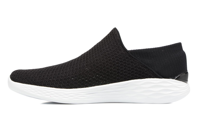 Chaussures de sport Skechers You Noir vue face