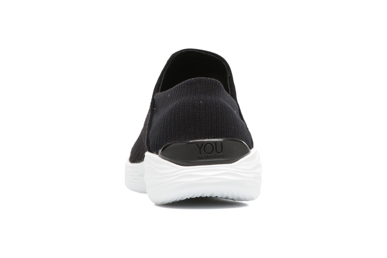 Chaussures de sport Skechers You Noir vue droite