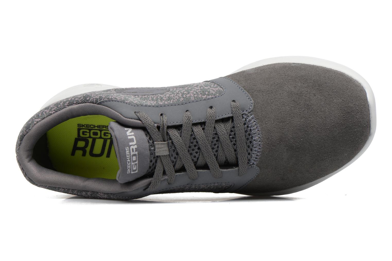 Chaussures de sport Skechers Go run 600 Gris vue gauche