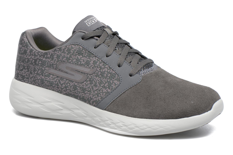 Chaussures de sport Skechers Go run 600 Gris vue détail/paire