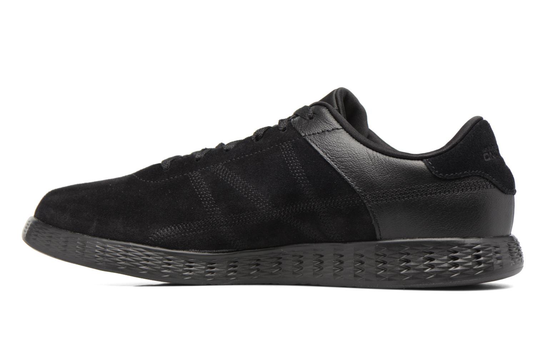 Sneaker Skechers On-the-go Glide Sharp schwarz ansicht von vorne
