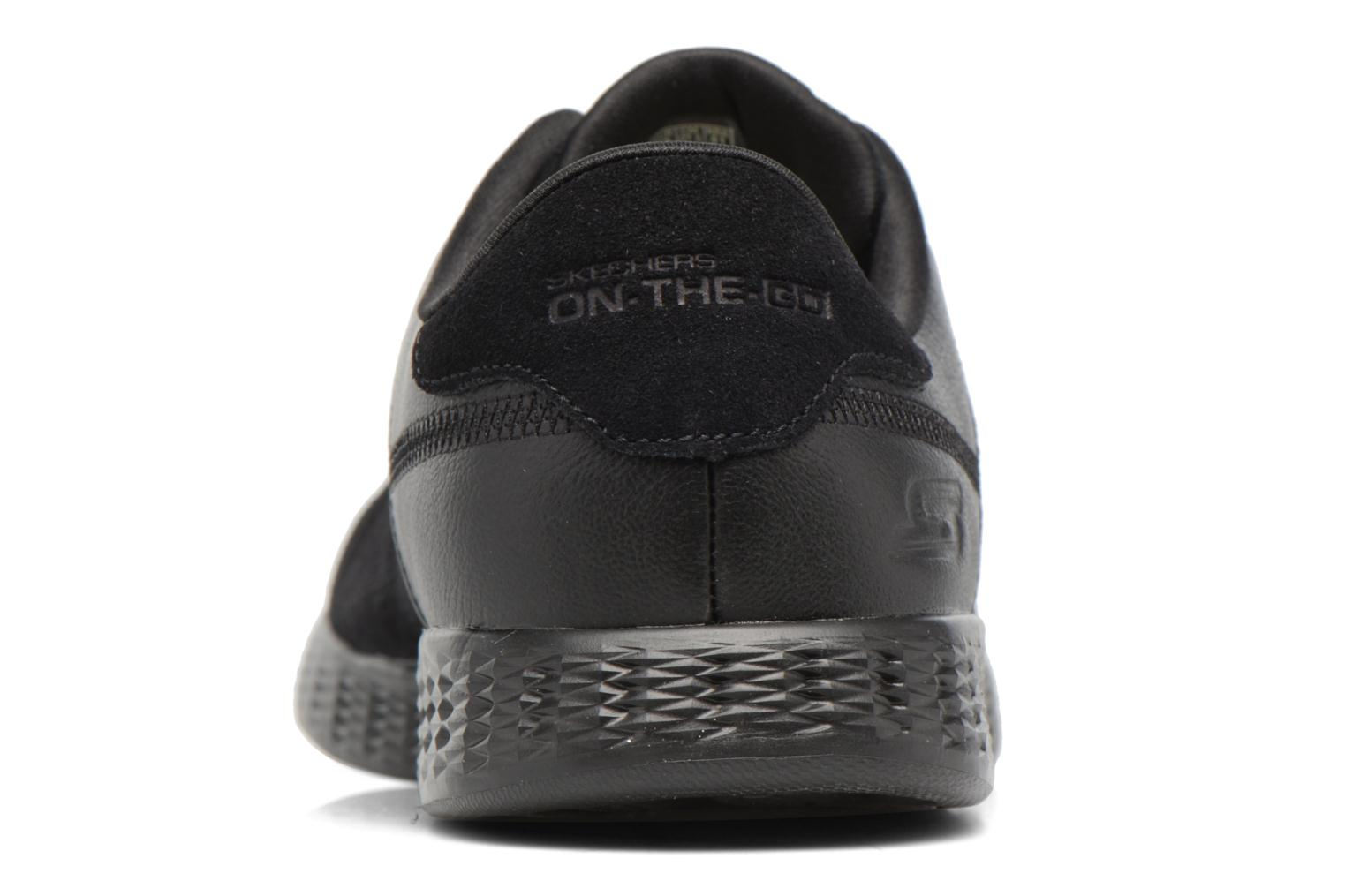 Trainers Skechers On-the-go Glide Sharp Black view from the right