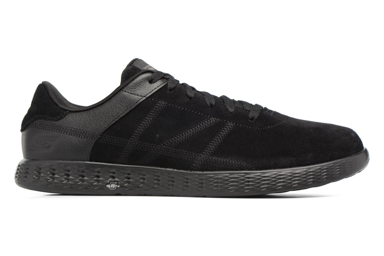 Trainers Skechers On-the-go Glide Sharp Black back view