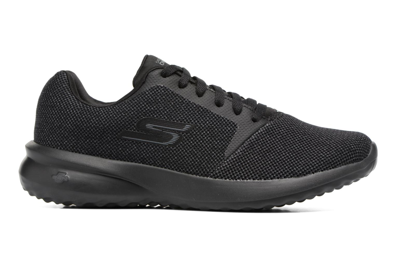 Sport shoes Skechers On-the-go City 3.0 Black back view