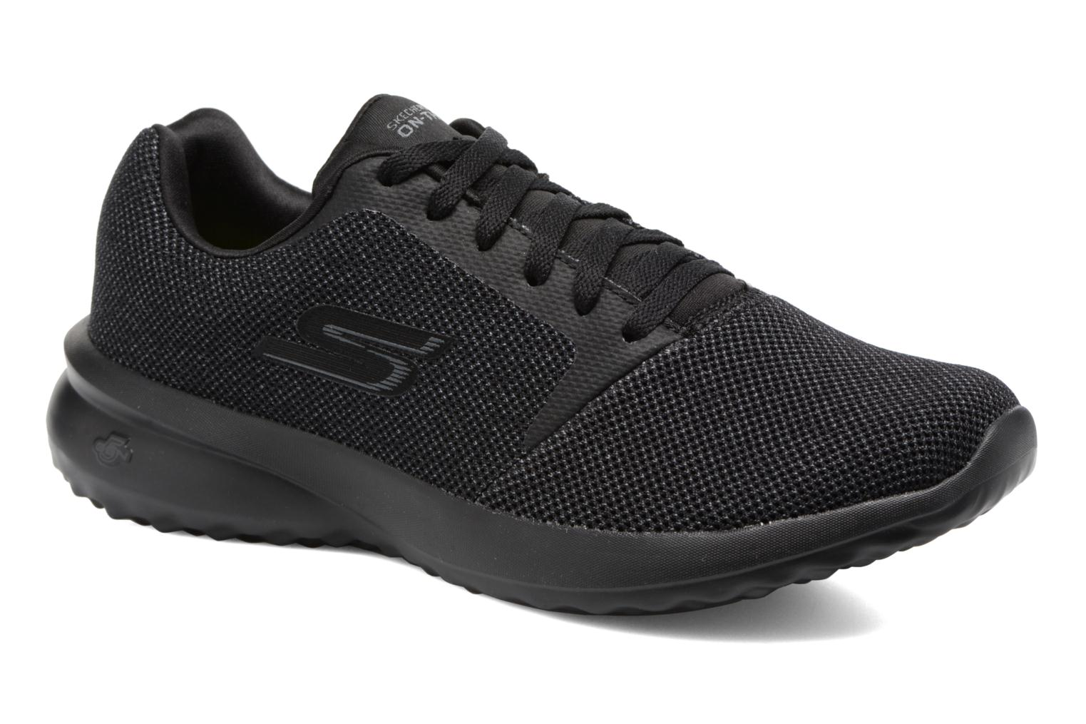 Sport shoes Skechers On-the-go City 3.0 Black detailed view/ Pair view