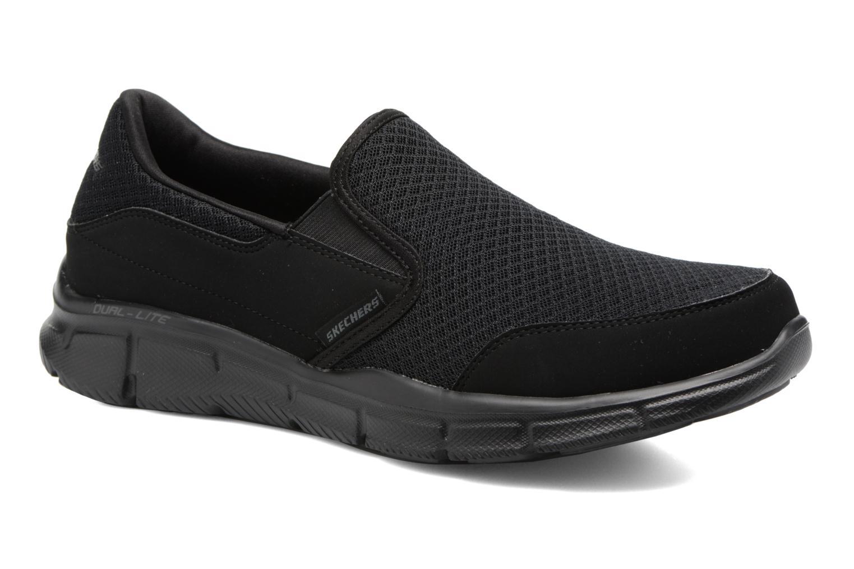 Sportssko Skechers Equalizer Persistent Sort detaljeret billede af skoene
