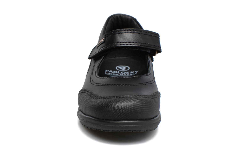 Ballerines Pablosky Laura Noir vue portées chaussures