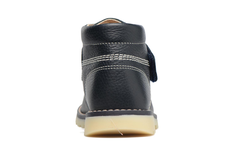Bottines et boots Pablosky Paby Bleu vue droite