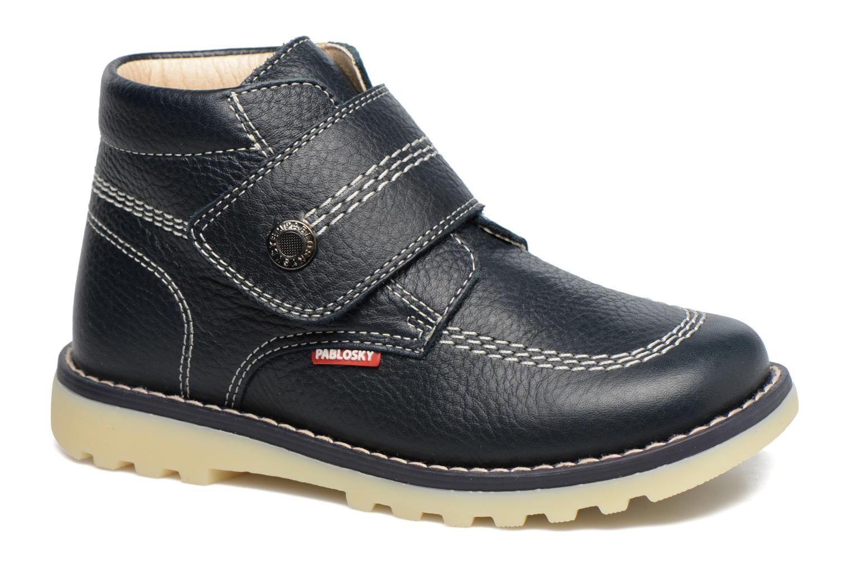 Bottines et boots Pablosky Paby Bleu vue détail/paire