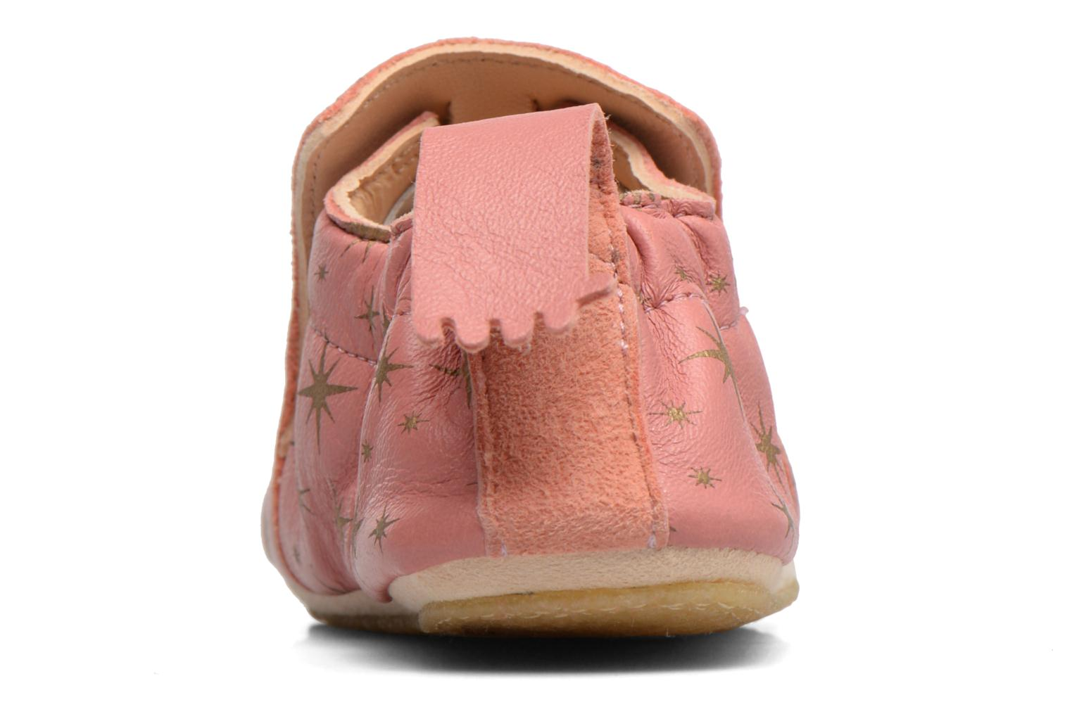 Chaussons Easy Peasy Blublu Cosmos Rose vue derrière