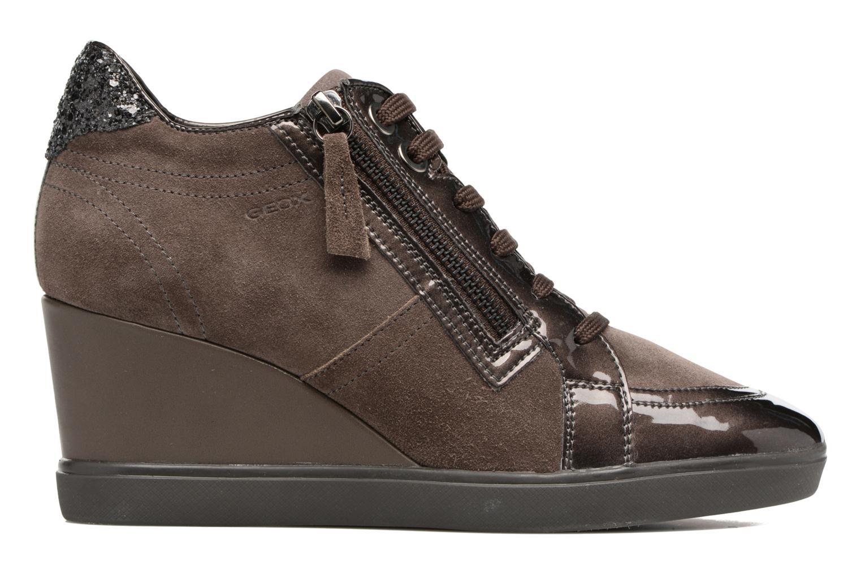 Sneakers Geox D Eleni C D7467C Bruin achterkant