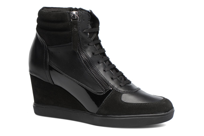 Grandes descuentos últimos zapatos Geox D Eleni A D7467A (Negro) - Deportivas Descuento