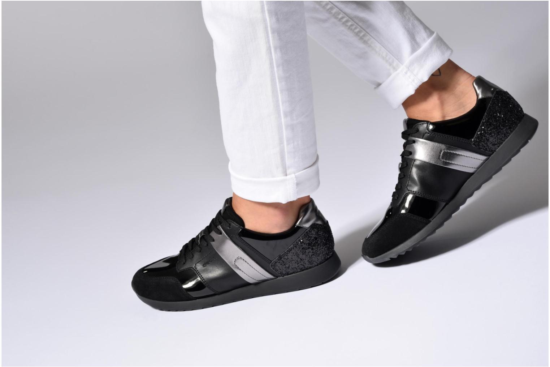 Sneakers Geox D Deynna D D746FD Grijs onder