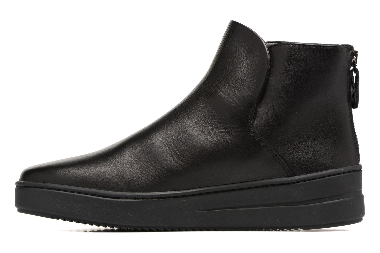 Bottines et boots The Flexx Sneak on Over Noir vue face