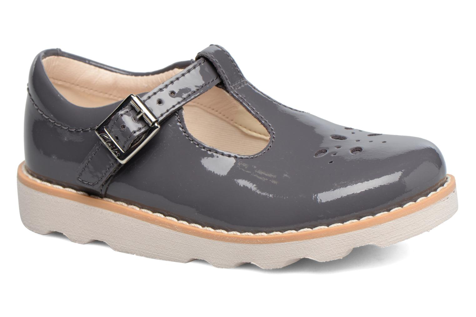 Ballerina's Clarks Crown Wish Inf Grijs detail