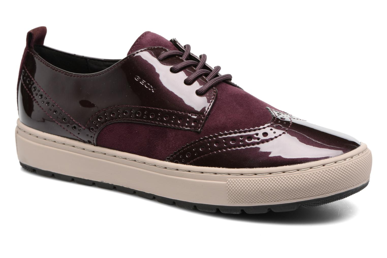 a626e0f490674 Grandes descuentos últimos zapatos Geox D Breeda B D742QB (Vino) -  Deportivas Descuento