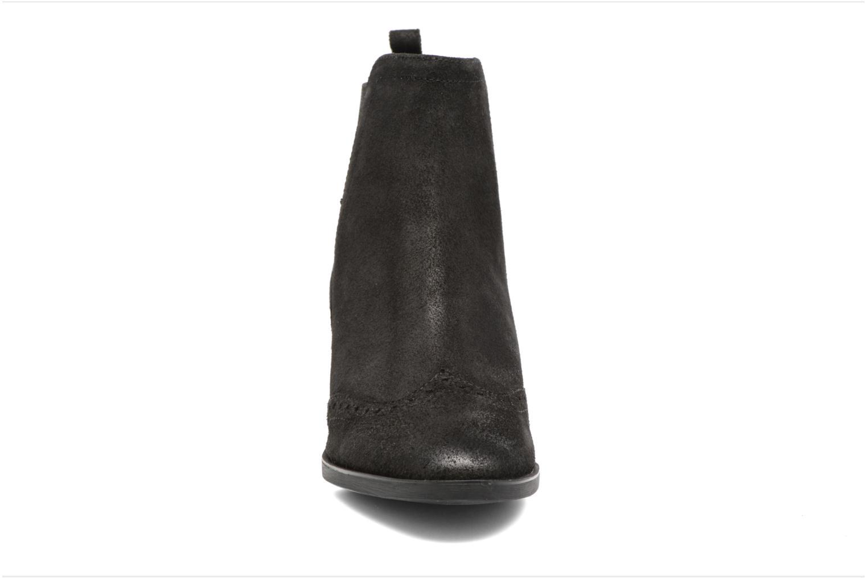 Bottines et boots Geox D Glynna B D743CB Noir vue portées chaussures