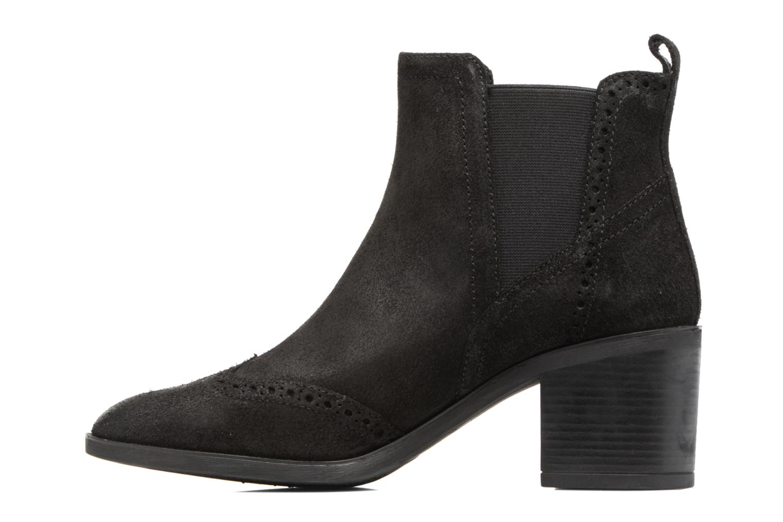 Bottines et boots Geox D Glynna B D743CB Noir vue face