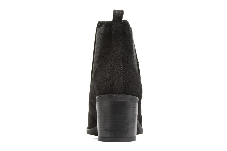 Bottines et boots Geox D Glynna B D743CB Noir vue droite