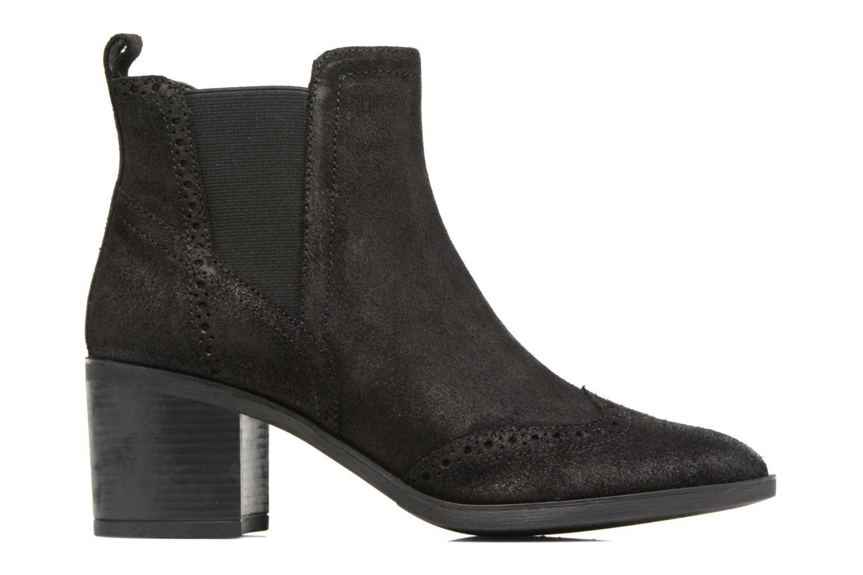 Bottines et boots Geox D Glynna B D743CB Noir vue derrière