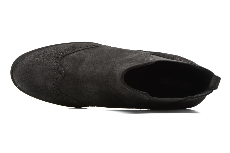 Bottines et boots Geox D Glynna B D743CB Noir vue gauche