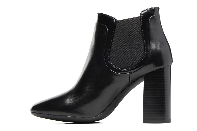 Bottines et boots Geox D Audalies H.A D743XA Noir vue face
