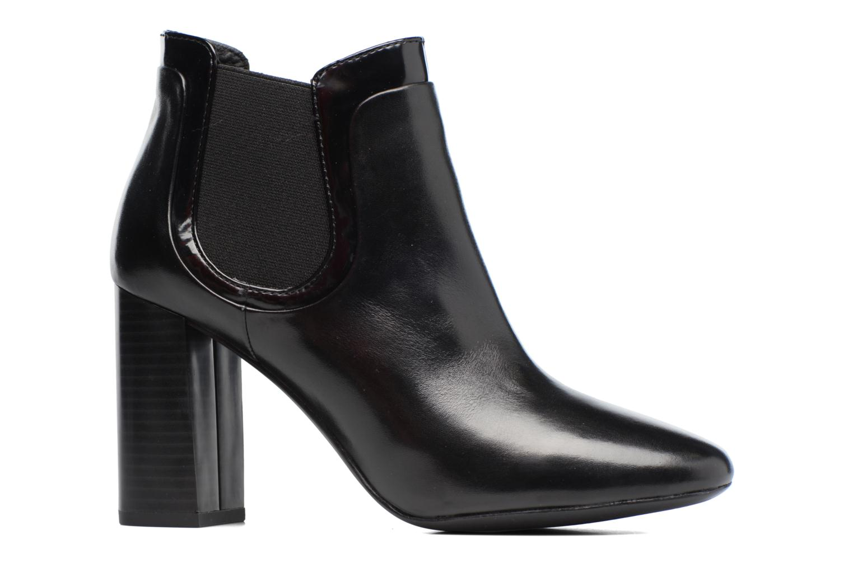 Bottines et boots Geox D Audalies H.A D743XA Noir vue derrière