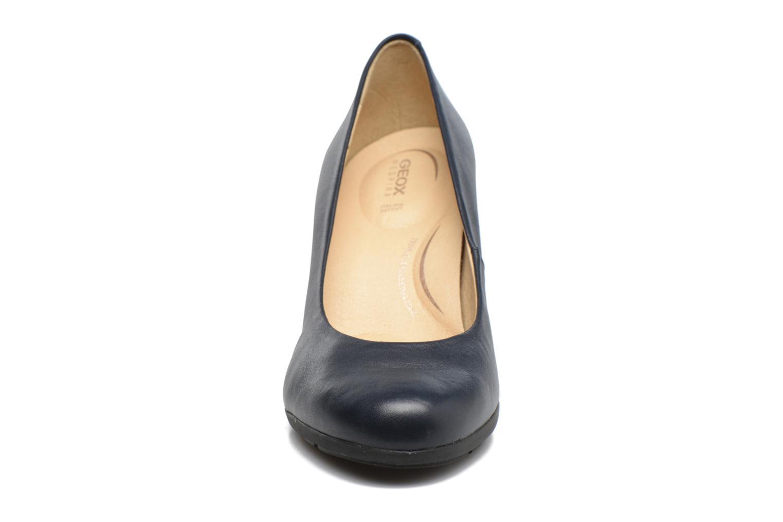 Escarpins Geox D Annya C D745FC Bleu vue portées chaussures