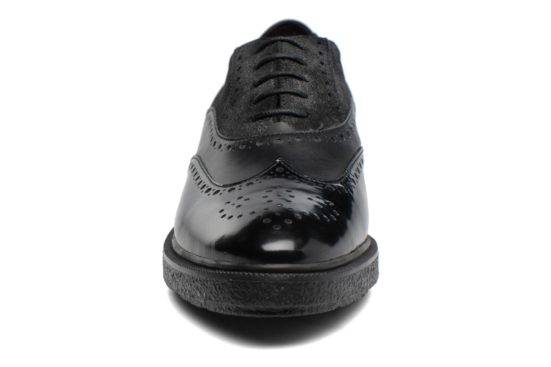 Chaussures à lacets Geox D Prestyn B D745WB Noir vue portées chaussures
