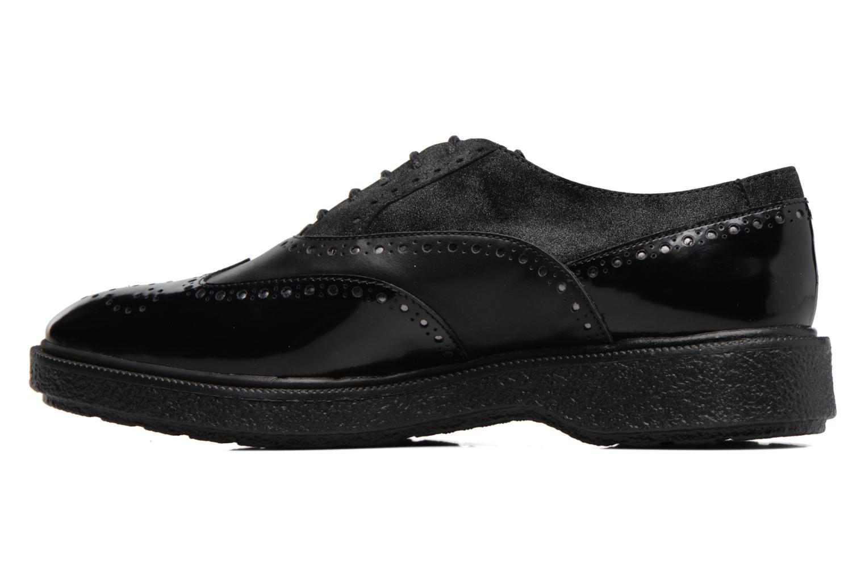 Chaussures à lacets Geox D Prestyn B D745WB Noir vue face