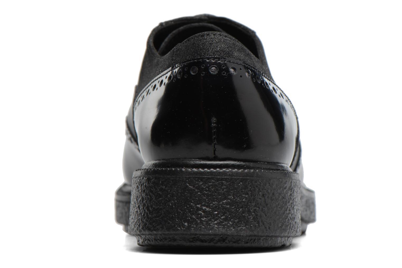 Chaussures à lacets Geox D Prestyn B D745WB Noir vue droite