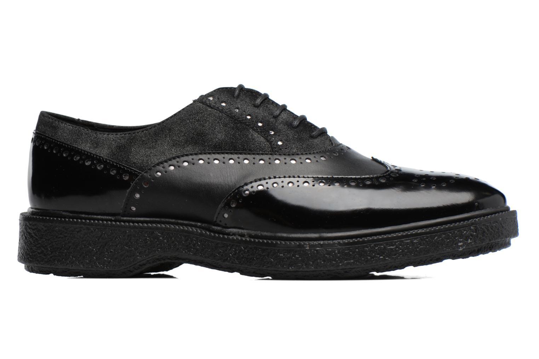 Chaussures à lacets Geox D Prestyn B D745WB Noir vue derrière