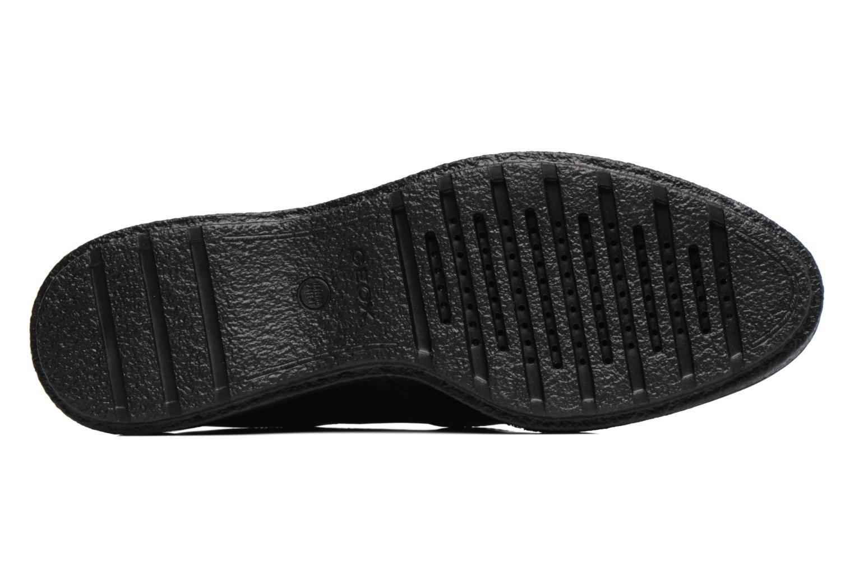 Chaussures à lacets Geox D Prestyn B D745WB Noir vue haut