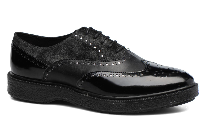 Chaussures à lacets Geox D Prestyn B D745WB Noir vue détail/paire