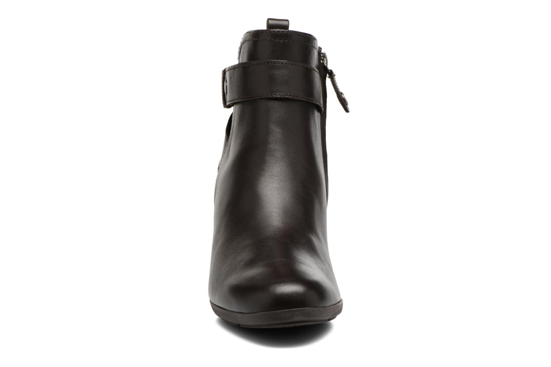 Bottines et boots Geox D Inspirat.Wed D D745ZD Marron vue portées chaussures