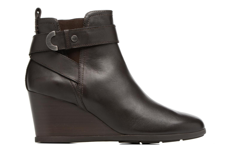 Bottines et boots Geox D Inspirat.Wed D D745ZD Marron vue derrière