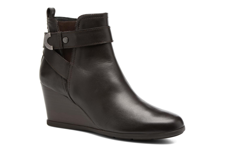 Bottines et boots Geox D Inspirat.Wed D D745ZD Marron vue détail/paire