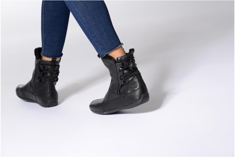 Bottines et boots Geox D New Moena A D7460A Noir vue bas / vue portée sac