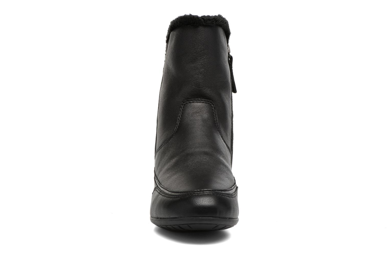 Bottines et boots Geox D New Moena A D7460A Noir vue portées chaussures