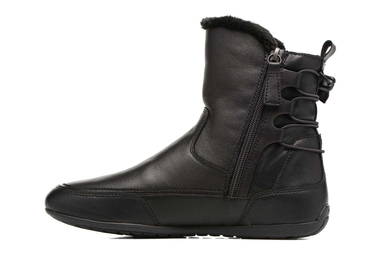 Bottines et boots Geox D New Moena A D7460A Noir vue face