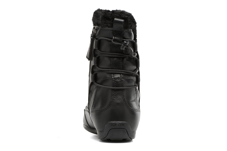 Bottines et boots Geox D New Moena A D7460A Noir vue droite