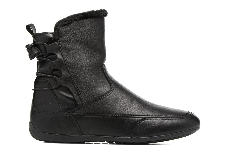 Bottines et boots Geox D New Moena A D7460A Noir vue derrière