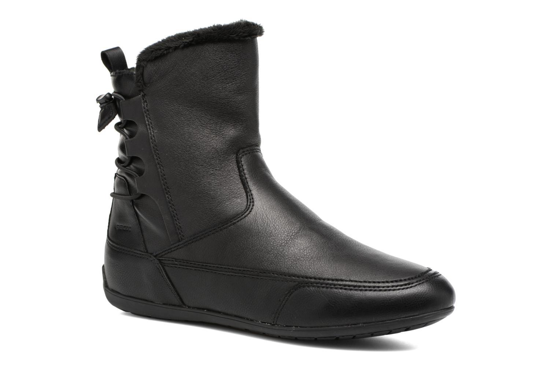Bottines et boots Geox D New Moena A D7460A Noir vue détail/paire