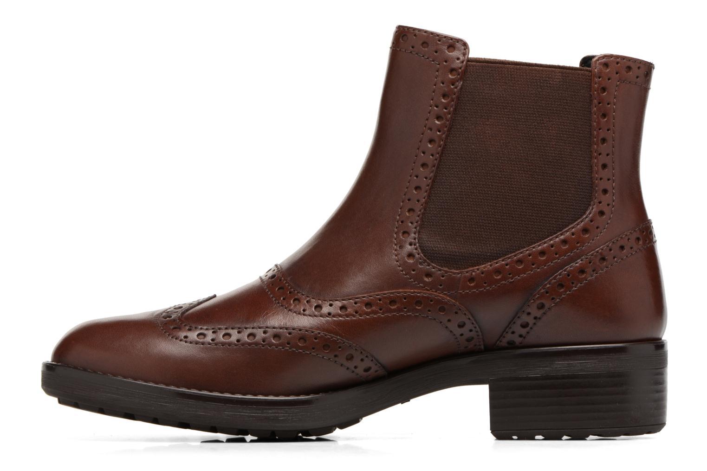 Bottines et boots Geox D Ettiene B D746BB Marron vue face