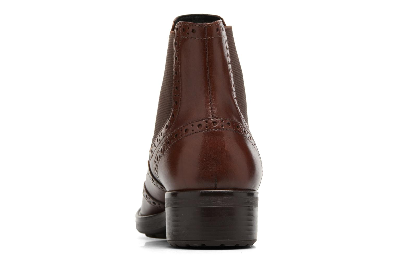 Bottines et boots Geox D Ettiene B D746BB Marron vue droite
