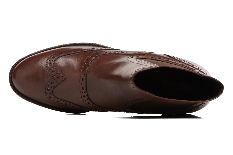 Bottines et boots Geox D Ettiene B D746BB Marron vue gauche